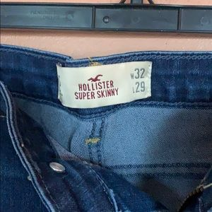 NWOT Hollister skinny jeans size 32x29
